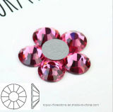 Ss6 Ss8 Ss10 Ss12 Rose Nail Rhinestones for Nails Art Glitter Crystals Decorations DIY Non Hotfix Strass (FB-ss6-ss12 3A)