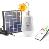 Rechargeable Dimmable E27 Solar LED Bulb with Remote Control