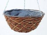 Flat Bottom Round Designer Hanging Basket