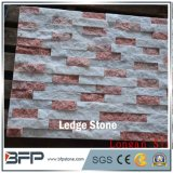High End Color Mixed Quartzite Stcked Stone for Wall Tile and Villa Wall Cladding