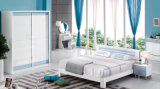 New Modern Design High Gloss Lacquered Modern Bedroom Furniture (HC908A)