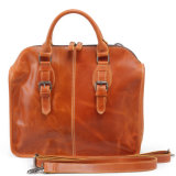 Genuine Leather Briefcase Bag Fashion Designer Man Handbags (RS-6013)