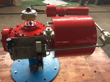 Scotch Yoke Pneumatic Actuators with Switch Box Solenoid Valve Trip Valve Pilot Valve