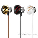 Super Bass in-Ear Metal Earphone HiFi Noise-Cancelling 3.5mm Headset with Mic