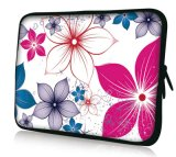 """13""""Cherry Blossoms Laptop Sleeve Case Bag Pouch for 13"""" 13.3"""" Apple Mac MacBook PRO, Air"""