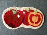 Home Textile Countryside Fruit Design Decoration Microfiber Carpet