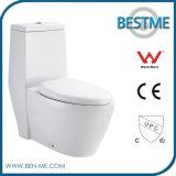 Economic Ceramic One Piece One-Piece Siphonic Toilet for Bathroom (BC-1310)