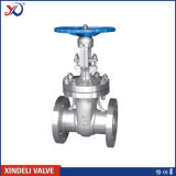ANSI 300lb CF3m Body Flange End Stainless Steel Gate Valve