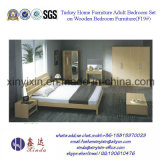 Ikea Home Furniture Simple MDF Bedroom Furniture (F19#)