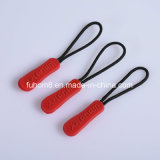 Custom Design Garment Silicone Zipper Puller for Slider