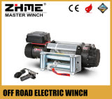 12 Volt 9500lbs Front Bumper Winch with Wire Rope