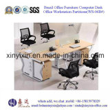 Modern Melamine Workstation Partitions China Office Furniture (WS-06B)