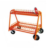 Portable Sport Equipment Discus Carrying Cart for Sale
