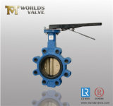 8 Inch Wcb C95400 Lever Operated Lug Butterfly Valve