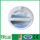 Aluminum Profile Circular Windows with Tempered Glass for European Style