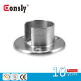Stainless Steel Handrail Base Plate for Round Post