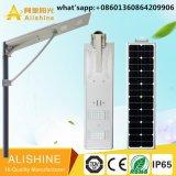 LiFePO4 Battery Integrated Solar Smart LED Street Light All in One LED Lights