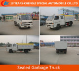 Hot Selling JAC 4*2 Sealed Rubbish Truck