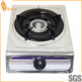 Stainless Steel Single Cast Iron Burner Gas Cooker Jp-101