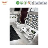 Customized Modern Office Furniture 4 Person Workstation