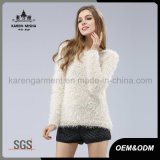Winter Fur Soft High Quality Long Pullover