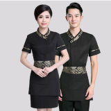 Professional Hotel Waiter Uniforms/Fashion Hotel/Restaurant Working Uniform