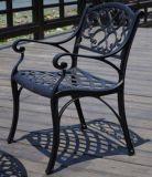 Outdoor Garden Garden Stationary Chair Cast Aluminum Furniture