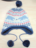 Children′s Fashion Colorful DOT Knitted Hat & Scarf & Gloves