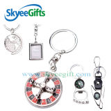 Hand Made Design Business Gift Iron Metal Type Key Chain