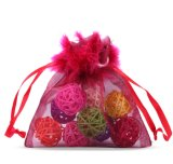 Sheer Flat Organza Bags for Lipbalms