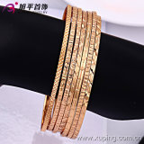 New Special- Price Fashion18k Gold Simple Thin Bangle