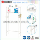 Adjustable Sturdy Perforated Metal Rack Bathroom Toilet Rack