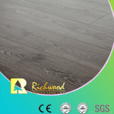 Commercial 12.3mm E0 HDF AC3 Embossed Waxed Edge Laminate Flooring