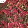 Red Chenille Jacquard Fabric Supplier (FTH31178)
