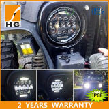 7inch 75W H4 H13 Auto LED Headlight for Jeep