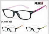 Hot Sale Fashion Square Frame Reading Glasses, CE, FDA, Kr5134