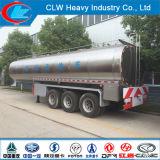 Heavy Duty 3 Axle 42000liters Insulted Milk Tank Semi Trailer