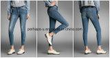 Multiple Colour Women Clothes Feet Slim Low Waist Denim Jeans
