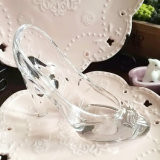 Cinderella Crystal Glass Shoes for Birthday Gift (KS56731)
