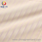 100%Cotton Yarn Dyed Stripe Fabric with Mercerized Finishing