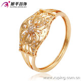 New Fashion 18k Gold Color Big Luxury Bangle with Bowknot