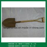 Shovel Wooden Handle Spade Shovel for Farming and Gardening