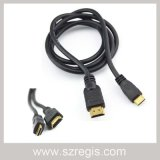 Tachograph Connection Television Male to HDMI 19p AV Data Cable