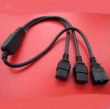 Power Cord Splitter Cable 18 AWG C20 to C19