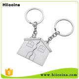 Promotion Custom House Matel Keychain Kering