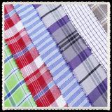 Polyester Cotton Yarn Dyed Stripe Dress Fabric