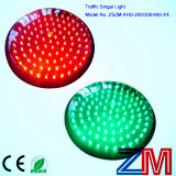 En12368 Certificated Red & Green LED Flashing Traffic Signal Core / LED Traffic Light Module