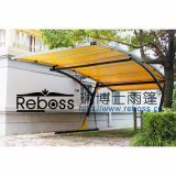 Hollow Solid Carports Garages with Polycarbonate Roof