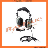 Over The Head Type Aviation Pnr Headset for General Aircraft (PH-100)