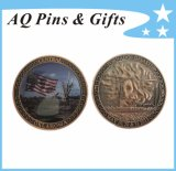 Military Printed Coins in Antique Copper, Metal Coin